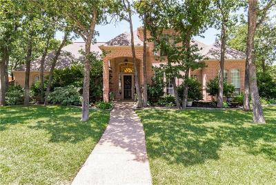 Keller Single Family Home Active Option Contract: 1100 Oakmont Court