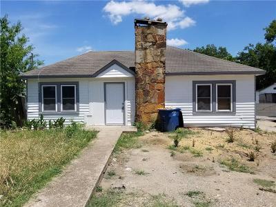 Dallas Single Family Home For Sale: 3818 Elva Avenue