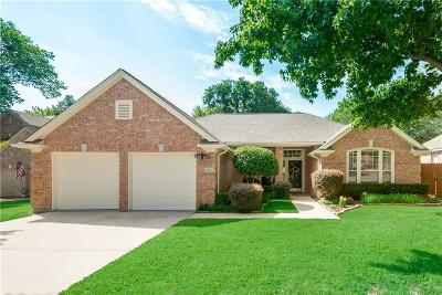 Flower Mound Single Family Home Active Option Contract: 2121 Blue Sage Drive