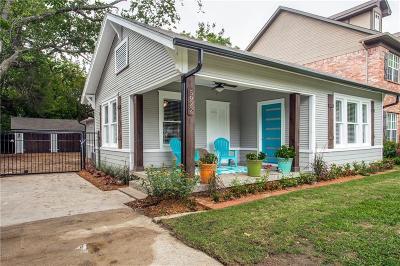 Dallas Single Family Home For Sale: 5922 Llano