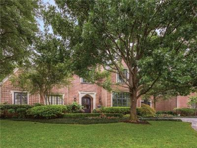University Park Single Family Home For Sale: 4001 Normandy Avenue