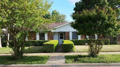 Dallas Single Family Home For Sale: 7402 Cloverglen Drive