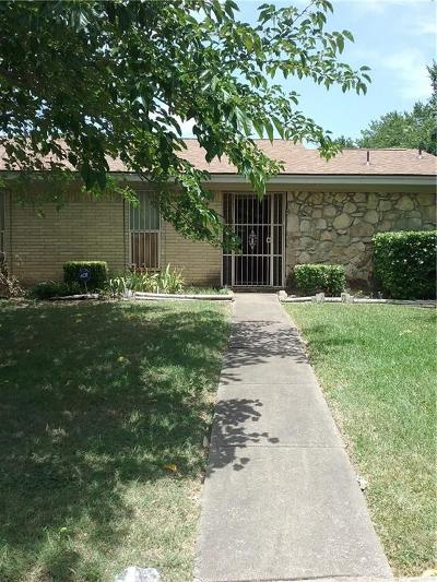 Dallas Single Family Home Active Option Contract: 9601 Glengreen Drive