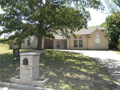Azle Single Family Home Active Option Contract: 222 Golfers Way