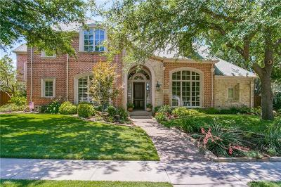 Plano Single Family Home Active Option Contract: 2909 Vinson Lane