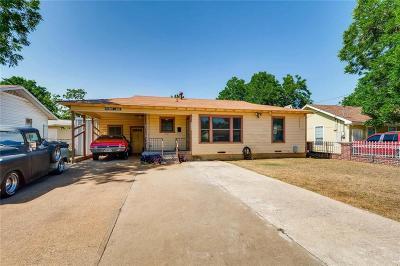 Dallas Single Family Home Active Option Contract: 2557 Glenfield Avenue
