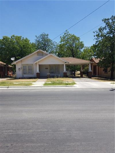 Brownwood Single Family Home For Sale: 1614 4th Street