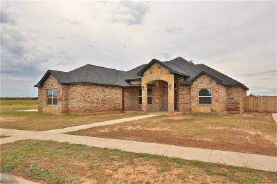 Abilene Single Family Home For Sale: 6426 Red Yucca Road