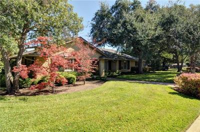 Overton Park Add, Overton Woods Add, Tanglewood Single Family Home For Sale: 3801 Arroyo Road