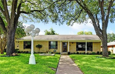 Dallas Single Family Home Active Option Contract: 8328 Londonderry Lane