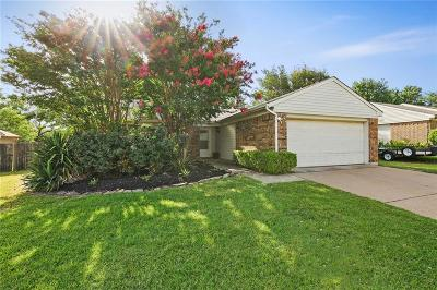 Grapevine Single Family Home Active Option Contract: 1114 Cable Creek Drive