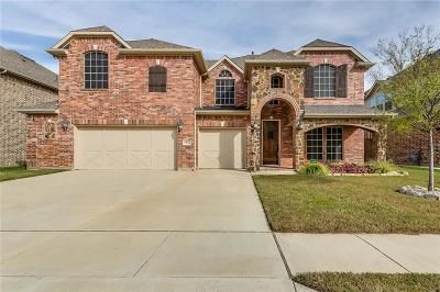 Fort Worth Single Family Home Active Option Contract: 12712 Steadman Farms Drive