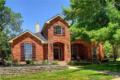 Keller Single Family Home Active Option Contract: 2007 Fox Meadow Drive