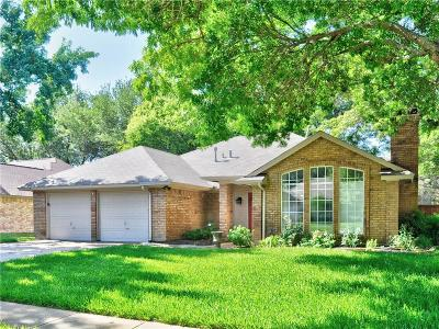 Grapevine Single Family Home Active Option Contract: 1909 Wood Meadow Drive