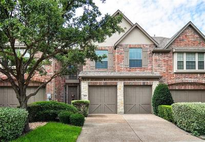 Frisco Townhouse For Sale: 5315 Balmoral Drive