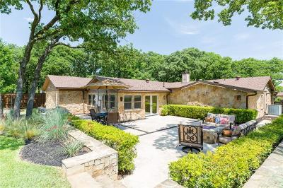 Keller Single Family Home Active Option Contract: 2020 Fawkes Lane