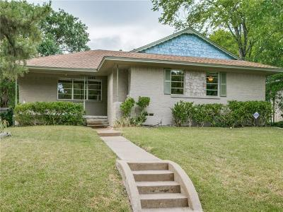 Dallas Single Family Home Active Option Contract: 2265 Springhill