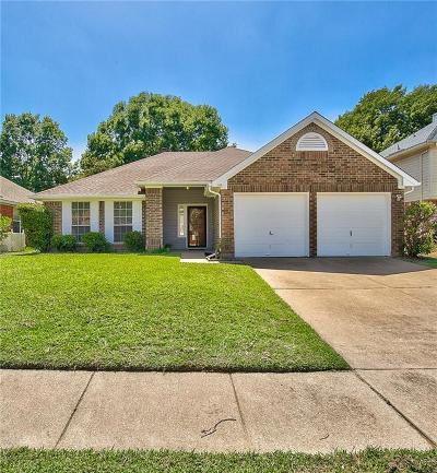 Euless Single Family Home Active Contingent: 1116 Princeton Place