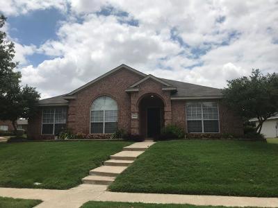 Mckinney Single Family Home Active Option Contract: 5501 Vineyard Lane