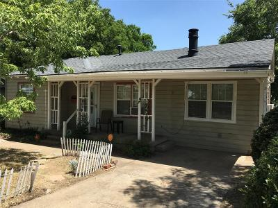 Dallas Single Family Home For Sale: 3632 Dutton Drive