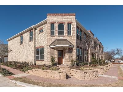 Lewisville Townhouse For Sale: 209 Belleville Drive