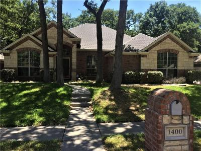 Azle Single Family Home For Sale: 1400 Flying Jib Drive