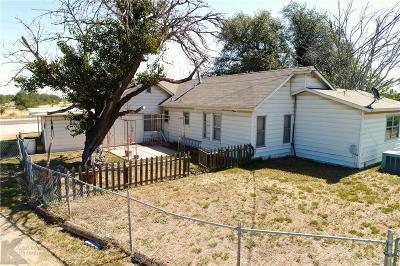 Breckenridge Single Family Home Active Option Contract: 861 Fm 2231 W