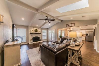 Bedford Single Family Home Active Option Contract: 2824 Live Oak Lane