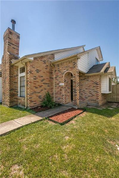 Dallas Half Duplex Active Option Contract: 5031 Clover Haven