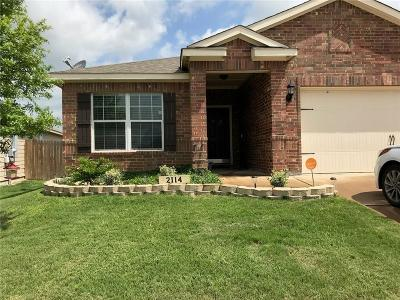 Anna Single Family Home For Sale: 2114 Pine Knoll Way