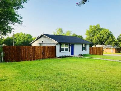 Mesquite Single Family Home For Sale: 1703 Carnation Drive