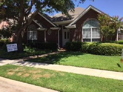 Irving Single Family Home For Sale: 8520 Mill Creek Road