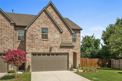 McKinney Townhouse Active Option Contract: 100 Mozart Way