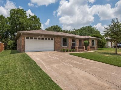 Bedford Single Family Home Active Option Contract: 2605 Meadow Grn