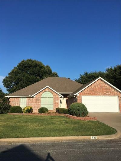 Canton TX Single Family Home For Sale: $205,000