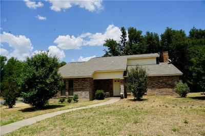 Stephenville Single Family Home Active Option Contract: 101 Doublehorn Street
