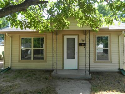 Stephenville Single Family Home Active Option Contract: 799 N Belknap Street