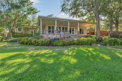 Azle Single Family Home Active Contingent: 12030 Oak Court