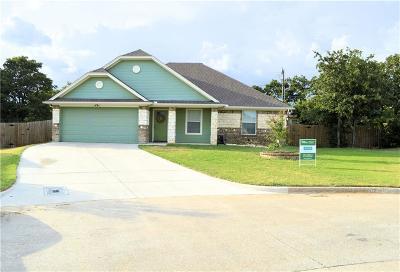 Azle Single Family Home Active Option Contract: 1229 Eagle Lake Street