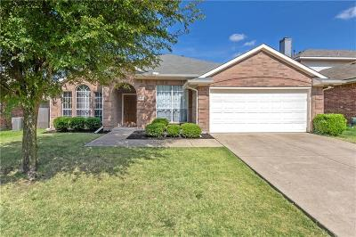 Wylie Single Family Home Active Option Contract: 1901 Country Walk Lane