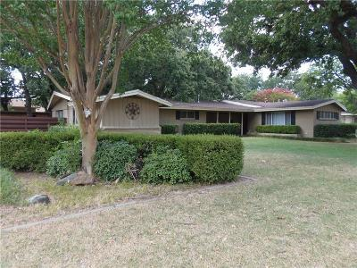 Irving Single Family Home For Sale: 106 Sanders Place
