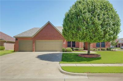 Wylie Single Family Home Active Option Contract: 3102 Reagenea Drive