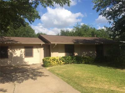 Irving Single Family Home Active Option Contract: 3726 Devonshire Court W