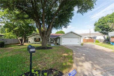 North Richland Hills Single Family Home Active Option Contract: 6200 Gayle Drive
