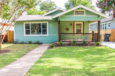 Dallas Single Family Home For Sale: 2007 W 10th Street