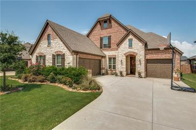 Frisco Single Family Home Active Option Contract: 4865 Club Terrace Lane