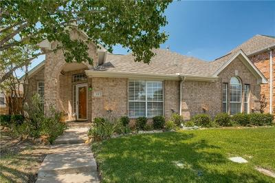 Irving Single Family Home Active Option Contract: 111 Pecan Valley Drive