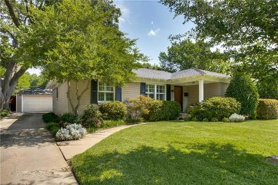 Dallas Single Family Home For Sale: 6421 Highgate Lane