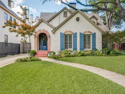 Dallas TX Single Family Home For Sale: $1,449,000