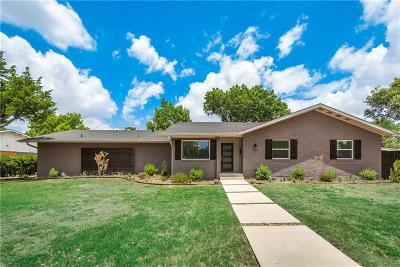 Dallas Single Family Home For Sale: 3869 Crown Shore Drive